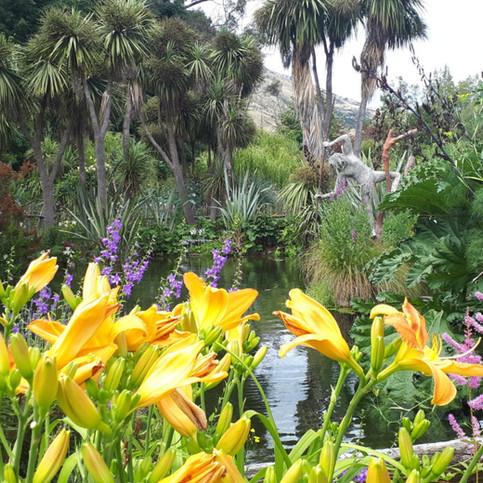 Jardin extraordinaire en Nouvelle Zélande