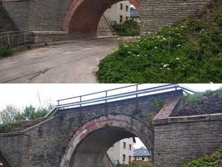 Oprava železničního mostu