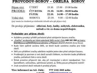 Bazar v Provodově-Šonově