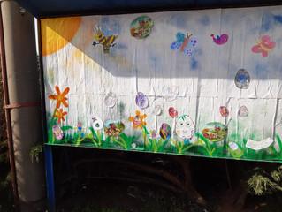 Vrchovinské děti rozveselily plakátovací plochu