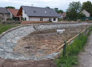 rekonstrukce rybníku
