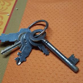 Nalezené klíče