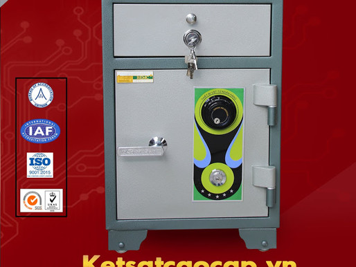 mua ket sat khoa van tay WELKO Fire Resistant Safes tai ninh binh