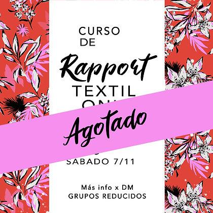 Curso Online grupal de rapport textil - En photoshop de cero -
