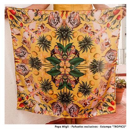 Pañuelo Trópico Amarillo