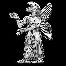 sumerian-deities-silver-god-ninurta-over