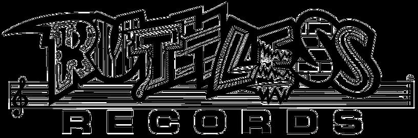 Ruthless Records Logo White