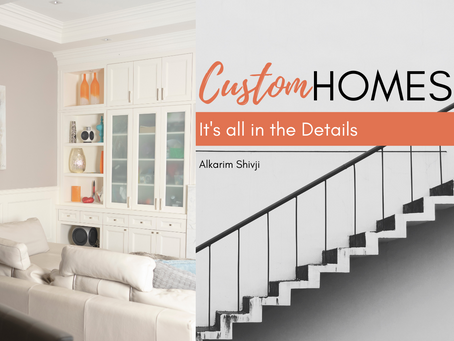 Custom Homes: It's all in the Details