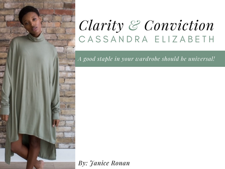Clarity & Conviction: Cassandra Elizabeth, Industry Insider
