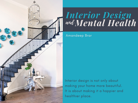 Interior Design and Mental Health