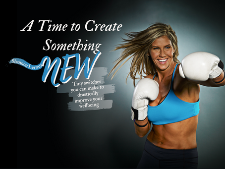 A Time to Create Something New