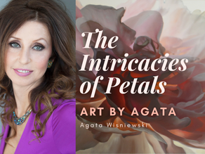 The Intricacies of Petals: Art by Agata