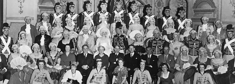 Winchester Amateur Operatic Society - WAOS - The Gipsy Baron - May 1961- Guildhall Winchester
