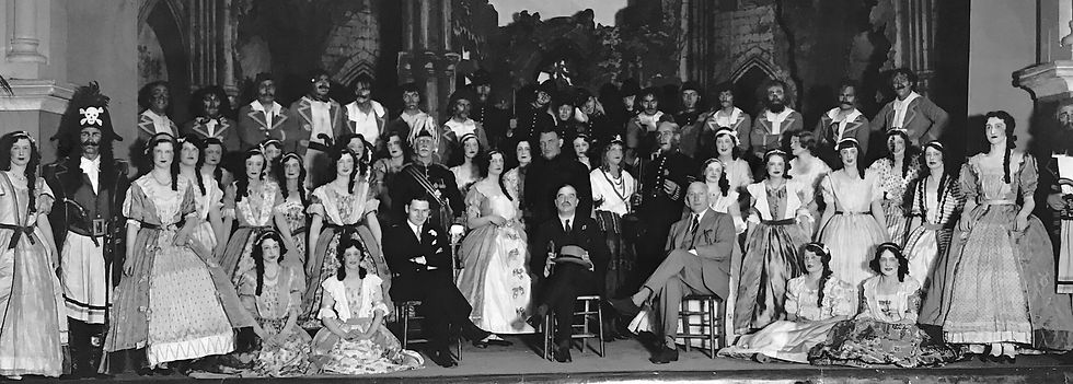 Winchester Amateur Operatic Society - WAOS - The Pirates of Penzance - May 1933 - Guildhall Winchester