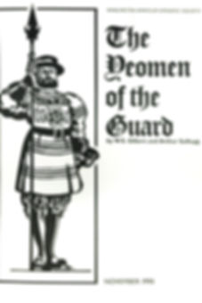 Programme cover for The Yeomen of the Guard 1990