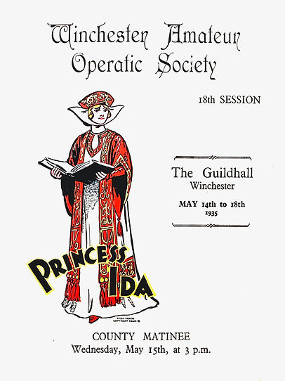 Programme cover for Princess Ida 1935