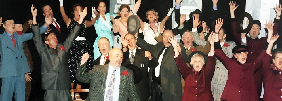 Winchester Operatic Society - WOS - Guys and Dolls - October 2003 - Theatre Royal Winchester