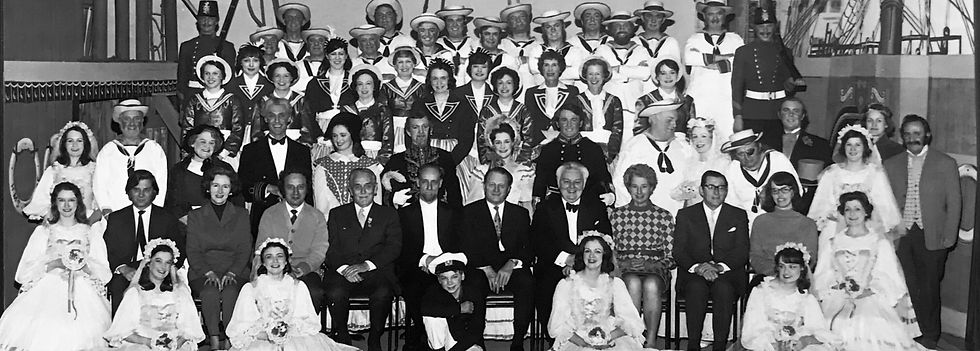 Winchester Amateur Operatic Society - WAOS - Trial by Jury & HMS Pinafore - April 1971 - Guildhall Winchester