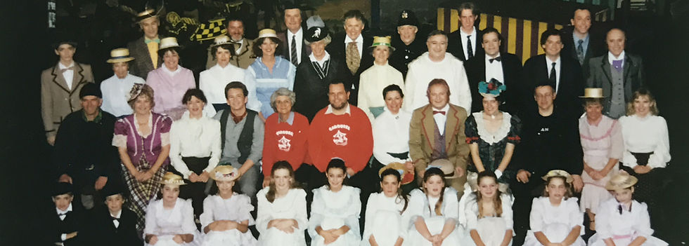 Winchester Amateur Operatic Society - WAOS - Carousel - October 1995 - Guildhall Winchester