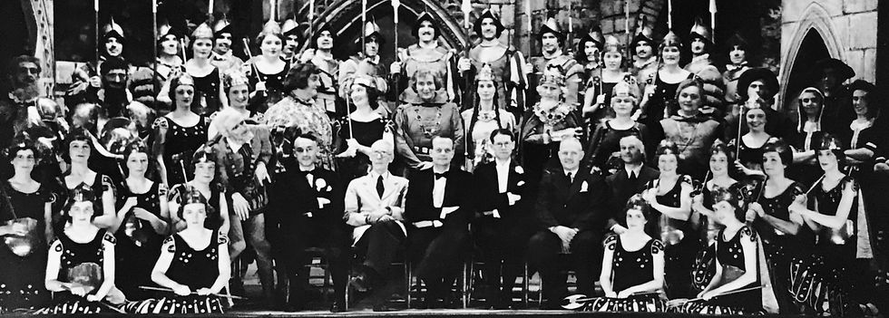 Winchester Amateur Operatic Society - WAOS - Princess Ida - May 1952 - Guildhall Winchester