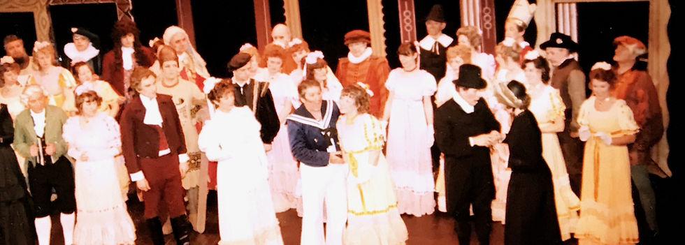 Winchester Amateur Operatic Society - WAOS - Ruddigore - April 1986 - Theatre Royal Winchester