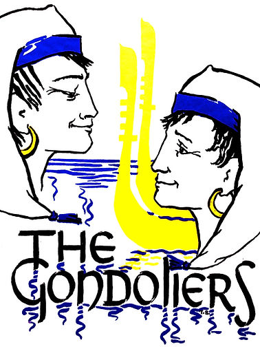 Programme cover for The Gondoliers 1967