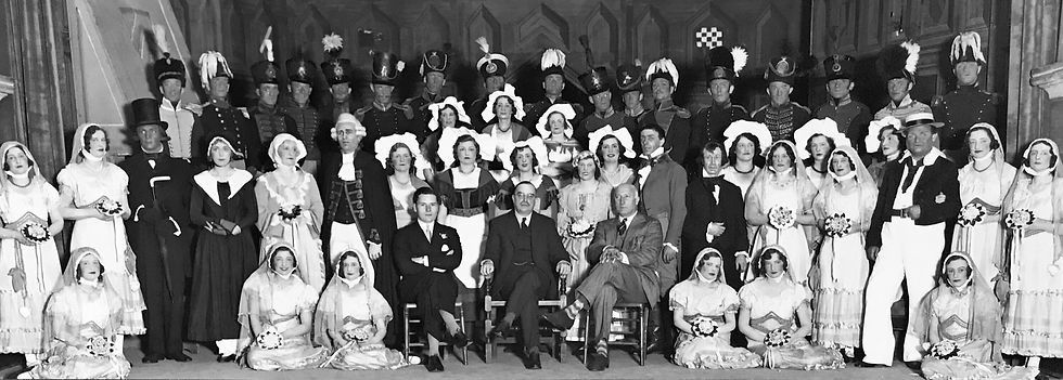 Winchester Amateur Operatic Society - WAOS - Ruddigore - May 1934 - Guildhall Winchester