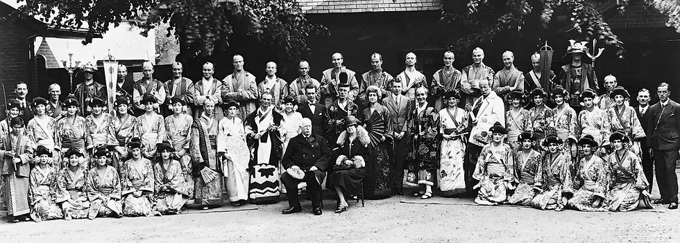 Winchester Amateur Operatic Society - WAOS - The Mikado - May 1927 - Guildhall Winchester