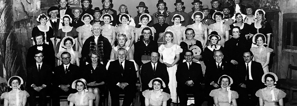 Winchester Amateur Operatic Society - WAOS - Ruddigore - May 1968 - Guildhall Winchester