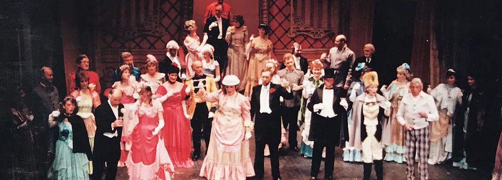 Winchester Amateur Operatic Society - WAOS - Die Fledermaus - April 1990 - Theatre Royal Winchester