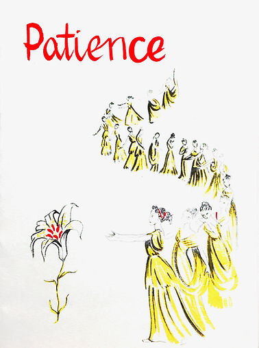 Programme cover for Patience 1959