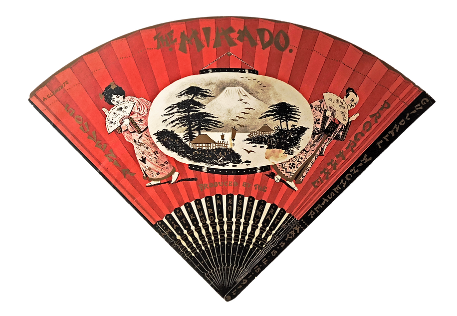 Programme cover for The Mikado 1914