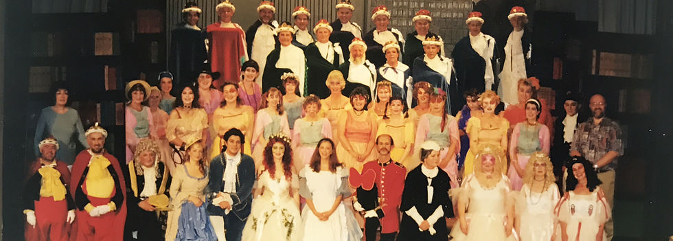 Winchester Amateur Operatic Society - WAOS - Iolanthe - May 1998 - Winchester Guildhall