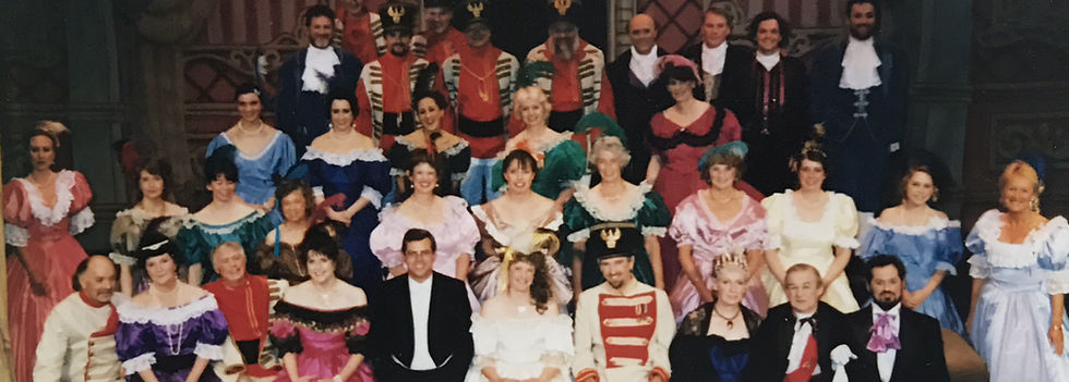 Winchester Amateur Operatic Society - WAOS - The Gipsy Baron - May 1995 - Guildhall Winchester