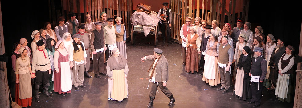 Winchester Operatic Society - WOS - Fiddler on the Roof - November 2011 - Theatre Royal Winchester