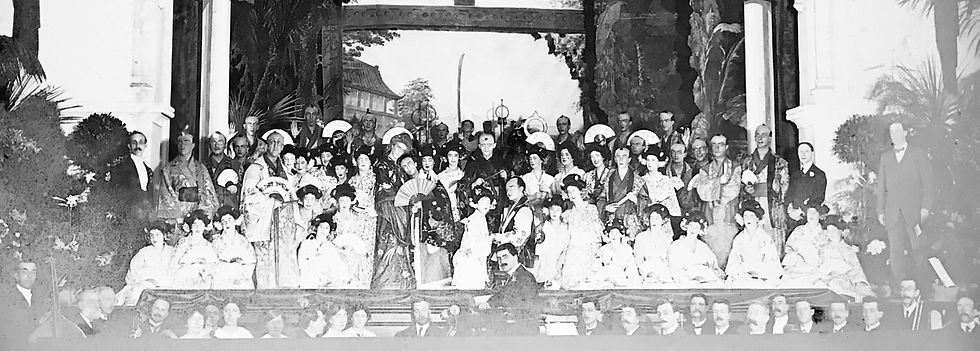 Winchester Amateur Operatic Society - WAOS - The Mikado - May 1914 - Guildhall Winchester