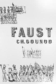 Programme cover for Faust - April 1988