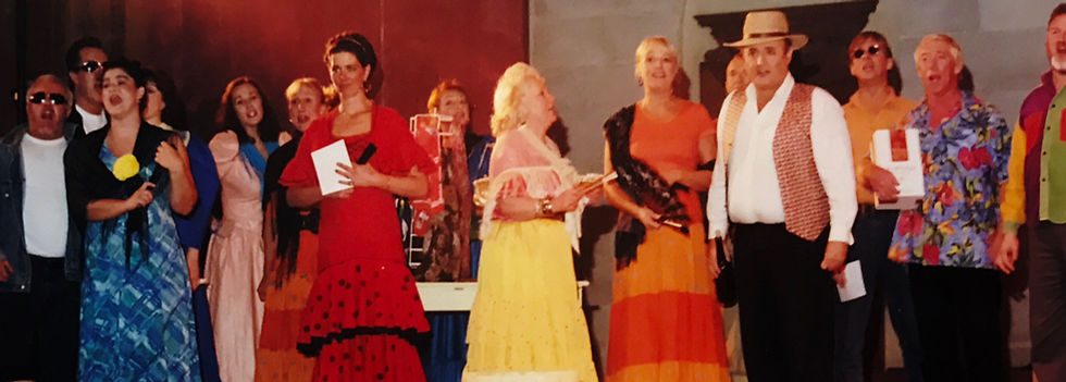 Winchester Amateur Operatic Society - WAOS - Carmen - October 2000 - New Hall, Winchester College