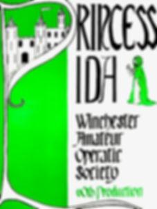 Programme cover for Princess Ida - November 1981
