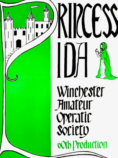 Programme cover for Princess Ida - November 1981
