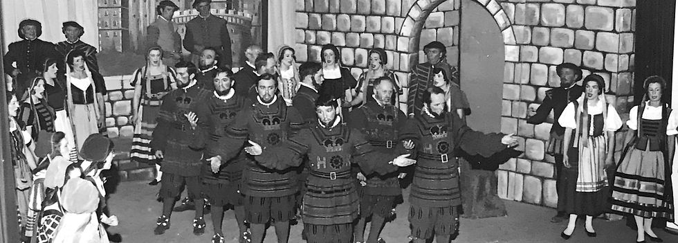 Winchester Amateur Operatic Society - WAOS - The Yeomen of the Guard - April 1970 - Guildhall Winchester