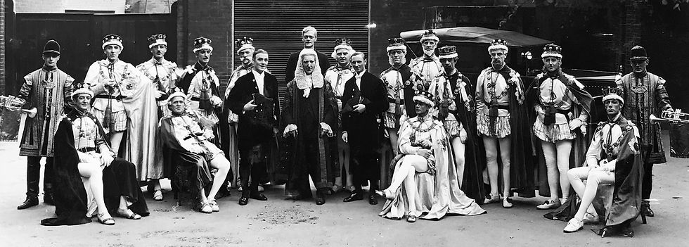 Winchester Amateur Operatic Society - WAOS - Iolanthe - May 1928 - Guildhall Winchester