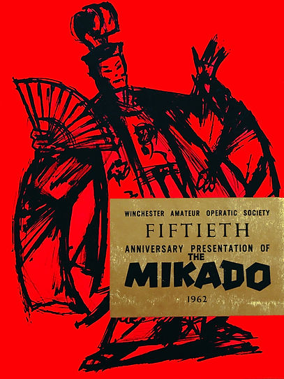 Programme cover for The Mikad 1962