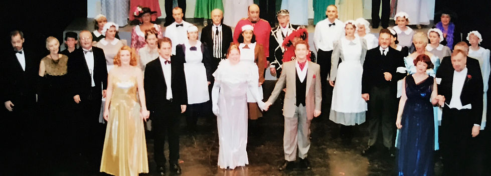 Winchester Amateur Operatic Society - WAOS - Me and My Girl - December 2001 - Theatre Royal Winchester