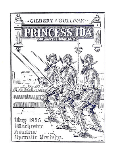 Programme cover for Princess Ida 1926