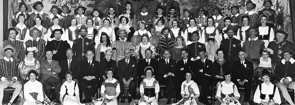 Winchester Amateur Operatic Society - WAOS - Merrie England - May 1964 - Guildhall Winchester