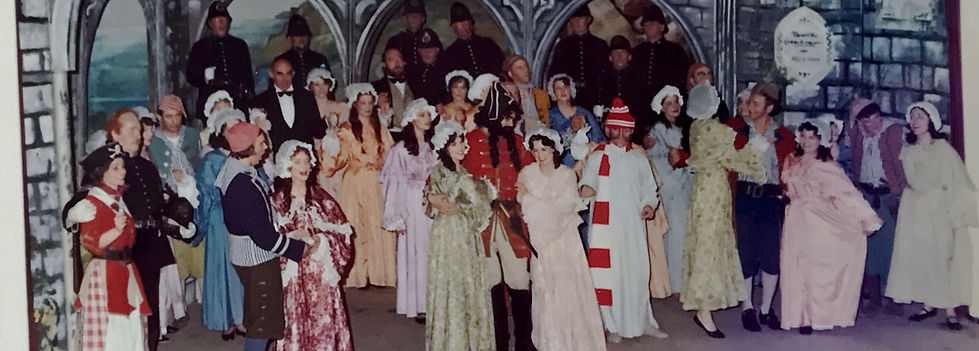Winchester Amateur Operatic Society - WAOS - Trial by Jury & Pirates of Penzance - April 1977 - Guildhall Winchester
