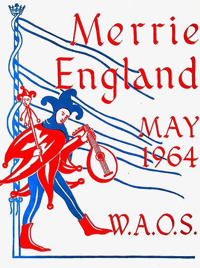 Programme cover for Merrie England 1964