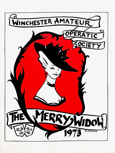 Programme cover for The Merry Widow 1973