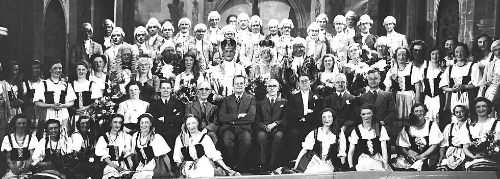Winchester Amateur Operatic Society - WAOS - The Gondoliers - May 1949 - Guildhall Winchester